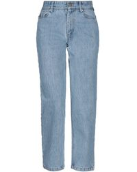 Matthew Adams Dolan Denim Trousers - Blue