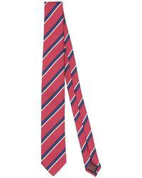 Fiorio Nœuds papillon et cravates - Rouge