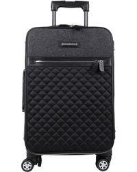 DSquared² Wheeled Luggage - Gray