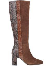 Bibi Lou Knee Boots - Brown