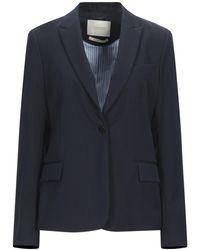 Maison Scotch Suit Jacket - Blue