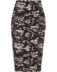 Victoria Beckham - 3/4 Length Skirt - Lyst
