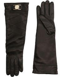 Versace Gloves - Black