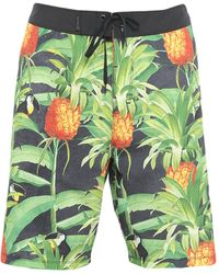 Hurley Beach Shorts And Trousers - Green
