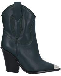 Materia Prima By Goffredo Fantini Ankle Boots - Green