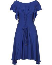 Annarita N. Knee-length Dress - Blue
