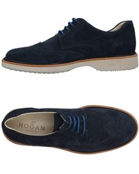 Hogan Schnürschuh - Blau