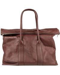 Maison Margiela Travel Duffel Bags - Brown