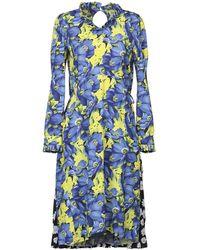 Balenciaga Vestito al ginocchio - Blu