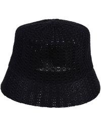 Alpha Studio Hat - Black