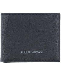 Giorgio Armani Wallet - Blue