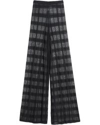 VIKI-AND Casual Trousers - Black