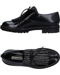 Ninalilou Lace-up Shoe - Black