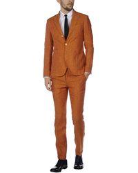 Domenico Tagliente Suit - Brown