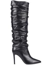 Erika Cavallini Semi Couture Knee Boots - Black