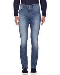 Bikkembergs Denim Trousers - Blue