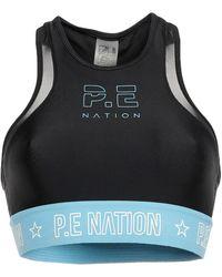 P.E Nation 'Figure Four' Sport-BH - Schwarz