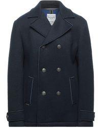 Fred Mello Coat - Blue