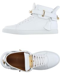 Buscemi Sneakers & Tennis shoes alte - Bianco