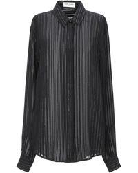Saint Laurent Chemise - Noir