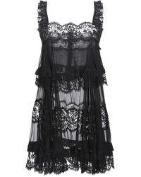 Dolce & Gabbana Slip - Black