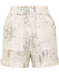 Ganni Shorts - Bianco
