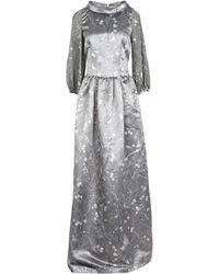 Roberta Scarpa Long Dress - Gray