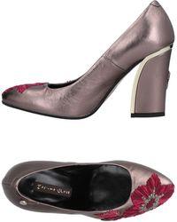 Manila Grace Court Shoes - Multicolour