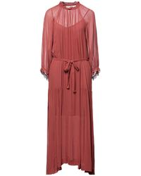 Second Female Long Dress - Red