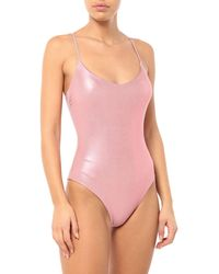 Fisico One-piece Swimsuit - Pink
