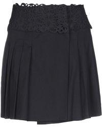 Ermanno Scervino Mini-jupe - Noir