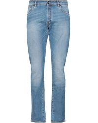 Pal Zileri Denim Pants - Blue