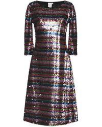 Nolita Knielanges Kleid - Mehrfarbig