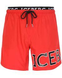 Iceberg Swim Trunks - Red