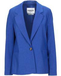 Essentiel Antwerp Suit Jacket - Blue