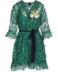 Anna Sui Kurzes Kleid - Grün