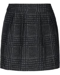 Ice Iceberg Mini Skirt - Black