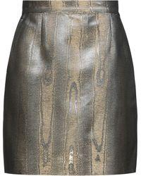 Racil Mini Skirt - Metallic