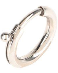 MM6 by Maison Martin Margiela Ring - Metallic