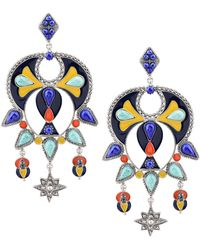 Roberto Cavalli - Earrings - Lyst