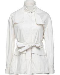 Soallure Lange Jacke - Weiß