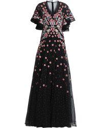 Rachel Gilbert Long Dress - Black