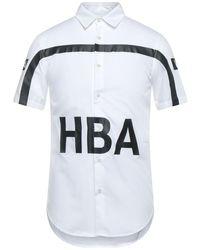 Hood By Air Shirt - White