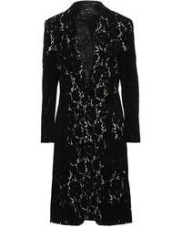Comme des Garçons Overcoat - Black