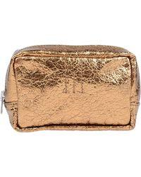 Golden Goose Deluxe Brand Beauty Case - Metallic