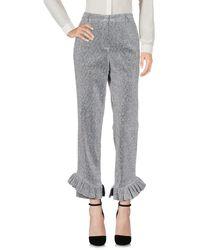 MEHTAP ELAIDI Pantalones - Metálico