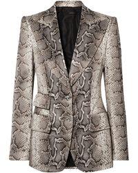 Tom Ford Suit Jacket - Multicolour