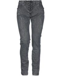 8pm Pantalon en jean - Gris