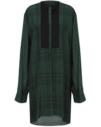 Haider Ackermann Short Dress - Green