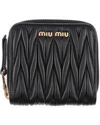 Miu Miu Brieftasche - Schwarz